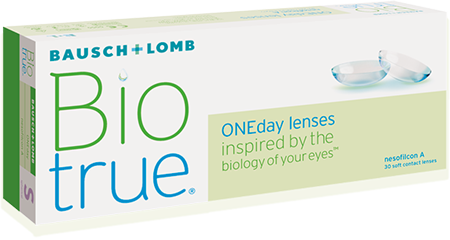 New Bausch & Lomb BioTrue One Day Contact Lenses in Humble, TX